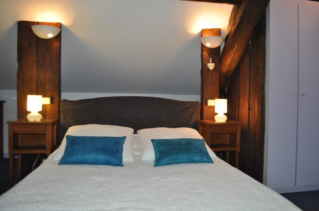 Chambre double Hotel du Centre à Metz