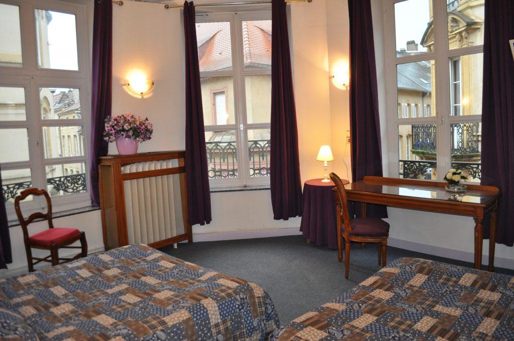 Chambre familiale Hotel du Centre Metz